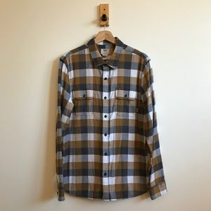 Vans plaid button-down shirt